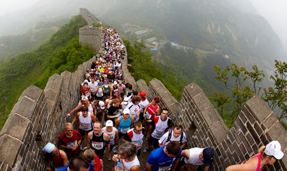 Albatros Travel China - Great wall marathon